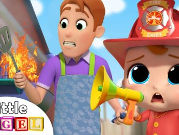 I Want To Be A Fireman | Family Rescue Team | Little Angel Kids Songs & Nursery Rhymes
