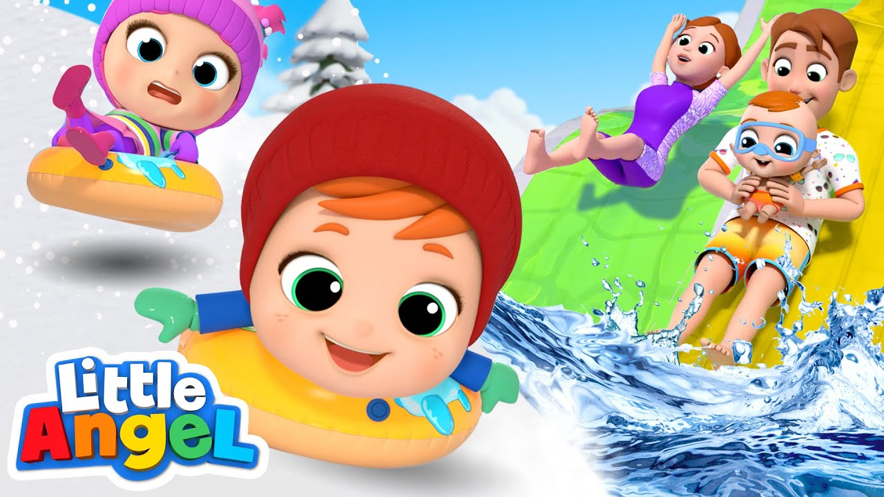 Summer vs Winter: Which One is Better? | Little Angel Kids Songs and Nursery Rhymes