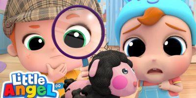Baa Baa Black Sheep Makes A Mess | Little Angel Nursery Rhymes & Kids Songs