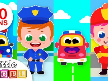 Policemen vs Firemen | What do you want to be? | Kids Songs & Nursery Rhymes by Little Angel