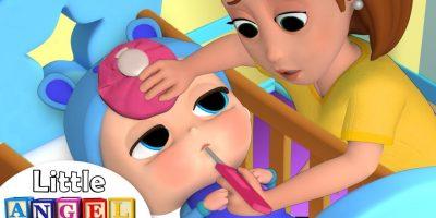 Baby Got Sick | Sick Song | Nursery Rhyme by Little Angel