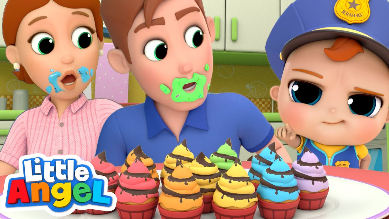 Who Ate the Cupcakes? | Johny Johny Song  & More Nursery Rhymes by Little Angel