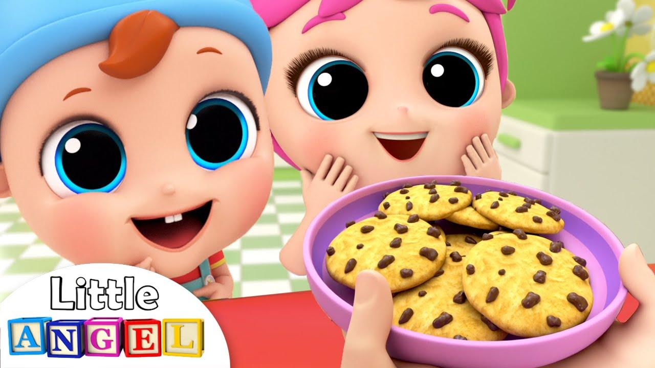 Yum, Yum, Cookies and Vegetables | Little Angel Kids Songs & Nursery Rhymes