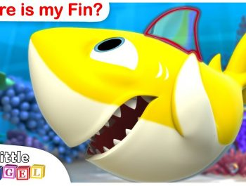 Baby Shark, Where is my Fin 3D? Princesses, No No Healthy Habits +More Kids Songs by Little Angel