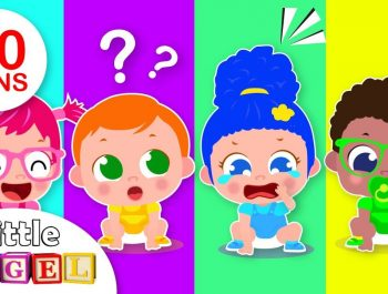 Ten Little Babies Song | Counting Numbers | Songs for Babies & Kids | Nursery Rymes by Little Angel