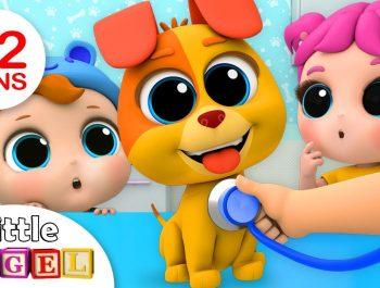 Bingo's Visit To The Vet   Nursery Rhymes by Little Angel