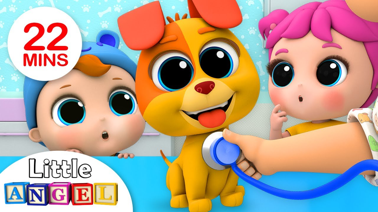 Bingo's Visit To The Vet | Nursery Rhymes by Little Angel