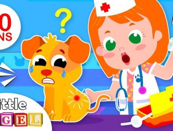 Baby Goes to the Vet | Jack & Jill Animals Song | Kids Songs & Nursery Rhymes by Little Angel