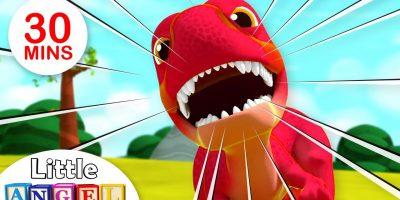 Baby T-Rex – Dinosaurs Song | Kids Songs & Nursery Rhymes Little Angel