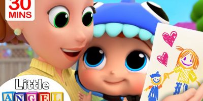 Mommy, Mommy I Love You   Little Angel Kids Songs & Nursery Rhymes