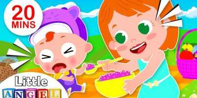 No No Song | Baby Goes for a Picnic, Healthy Foods | Kids Songs by Little Angel