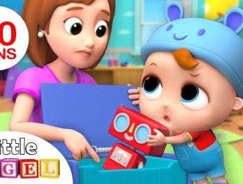 Clean Up and Put Your Toys Away, Baby | +More Nursery Rhymes by Little Angel