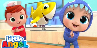 Baby Shark Dance   Nursery Rhymes by Little Angel