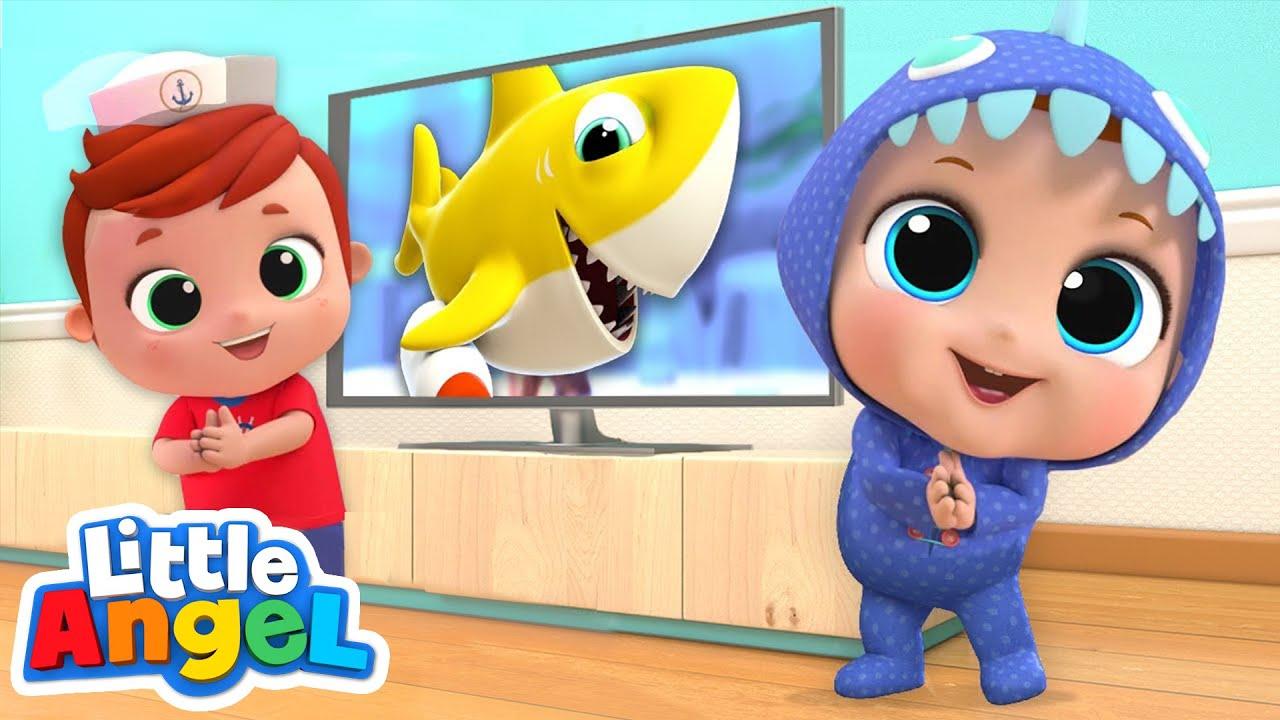 Baby Shark Dance | Nursery Rhymes by Little Angel