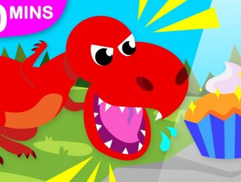 Do you Like Dinosaurs?   Baby T-Rex   Dinosaur Dance and more Dinosaur Songs by Little Angel