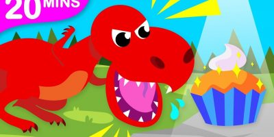 Do you Like Dinosaurs? | Baby T-Rex | Dinosaur Dance and more Dinosaur Songs by Little Angel