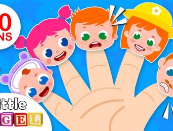 Daddy Finger and the Finger Family Song | +More Nursery Rhymes & Kids Songs by Little Angel