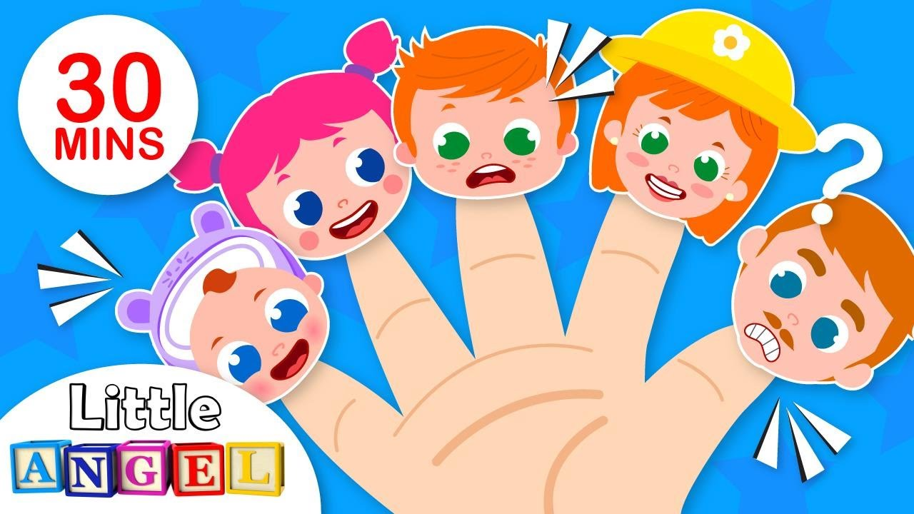 Daddy Finger and the Finger Family Song   +More Nursery Rhymes & Kids Songs by Little Angel