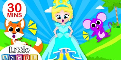 The Princess Magic Shoes, Princess Songs, No No Safety Tips, Nursery Rhymes by Little Angel