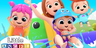 Family Fun Day Down by the Bay | Little Angel Nursery Rhymes & Kids Songs