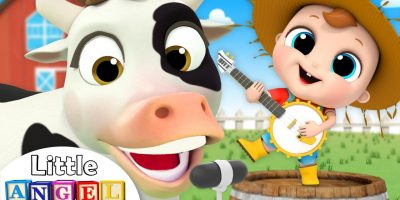 Old MacDonald Had a Farm | Animal Song | Nursery Rhymes by Little Angel