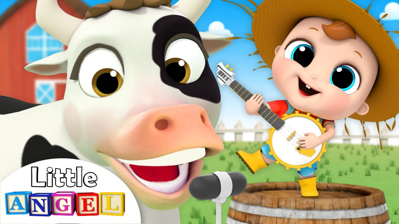 Old MacDonald Had a Farm | Animal Song | Nursery Rhymes by Little Angel