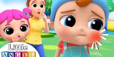 Baby John's Got A Toothache!   Little Angel Nursery Rhymes & Kids Songs