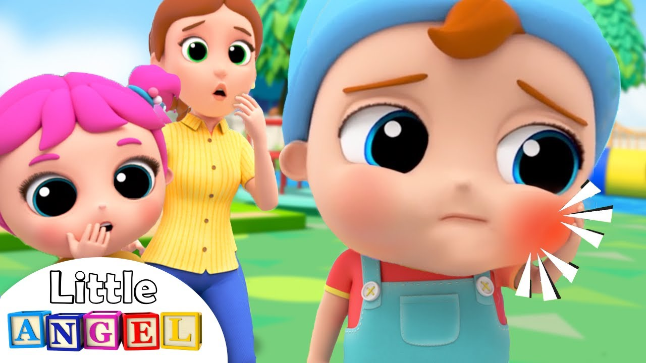 Baby John's Got A Toothache! | Little Angel Nursery Rhymes & Kids Songs