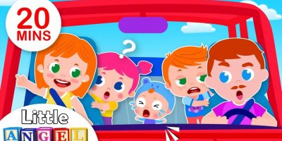 Are We There Yet? | Baby Visits the Dentist, 5 Little Puppies Peekaboo | Kids Songs by Little Angel