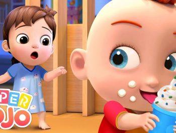 Johny Johny Yes Papa | Super JoJo Nursery Rhymes & Kids Songs