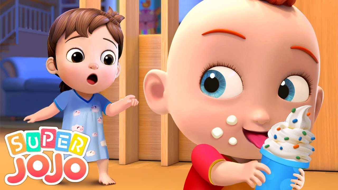 Johny Johny Yes Papa | Super JoJo Nursery Rhymes & Kids Songs