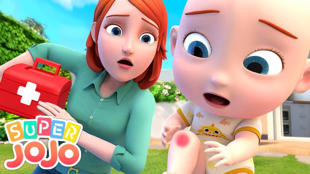 The Boo Boo Song | Baby Gets a Boo Boo | Super JoJo Nursery Rhymes & Kids Songs
