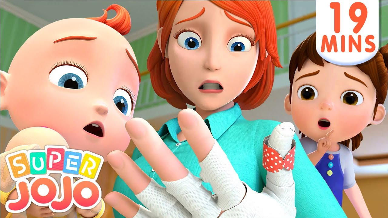 The Boo Boo Song | Baby Gets a Boo Boo + More Nursery Rhymes & Kids Songs – Super JoJo