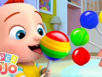 The Colors Song | Colors For Kids | Super JoJo Nursery Rhymes & Kids Songs