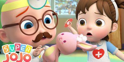 Doctor Checkup Song   Super JoJo Nursery Rhymes & Kids Songs