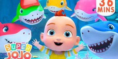 Baby Shark Dance Song + More Nursery Rhymes & Kids Songs – Super JoJo