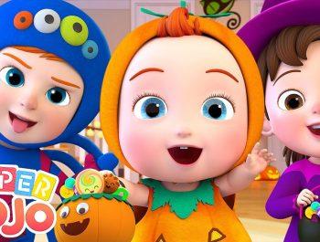 Happy Halloween Song | Trick or Treat | Super JoJo Nursery Rhymes & Kids Songs