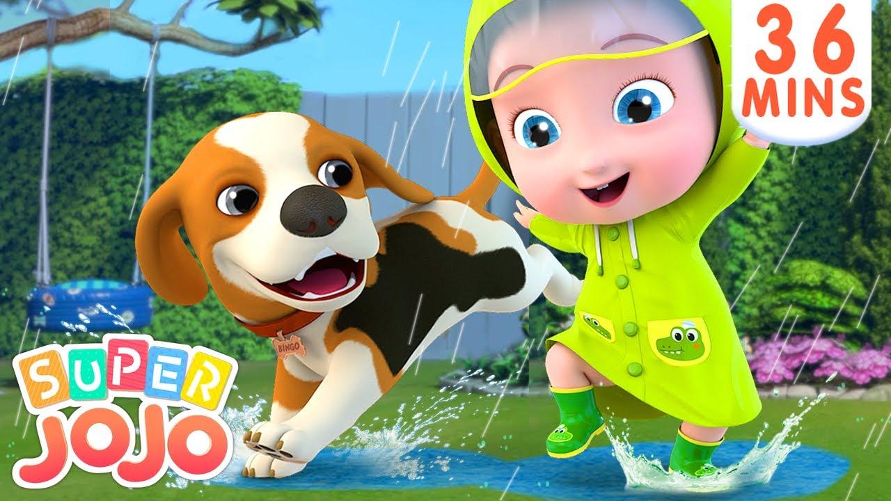Rain Rain Go Away | Swimming Song + More Nursery Rhymes & Kids Songs – Super JoJo