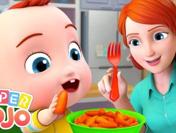 Yes Yes Vegetables Song | Super JoJo Nursery Rhymes & Kids Songs