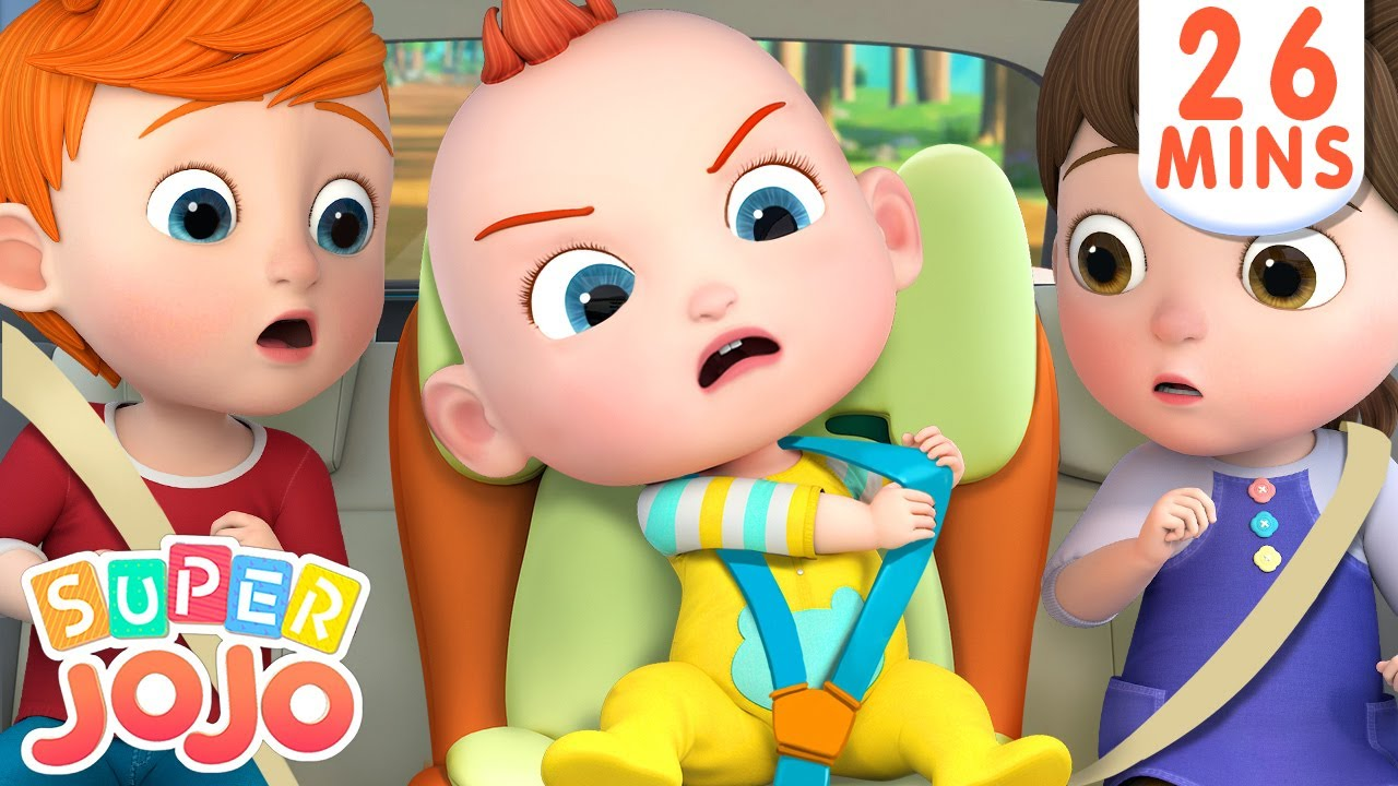 No No, I Don't Want The Seat Belt + More Nursery Rhymes & Kids Songs – Super JoJo