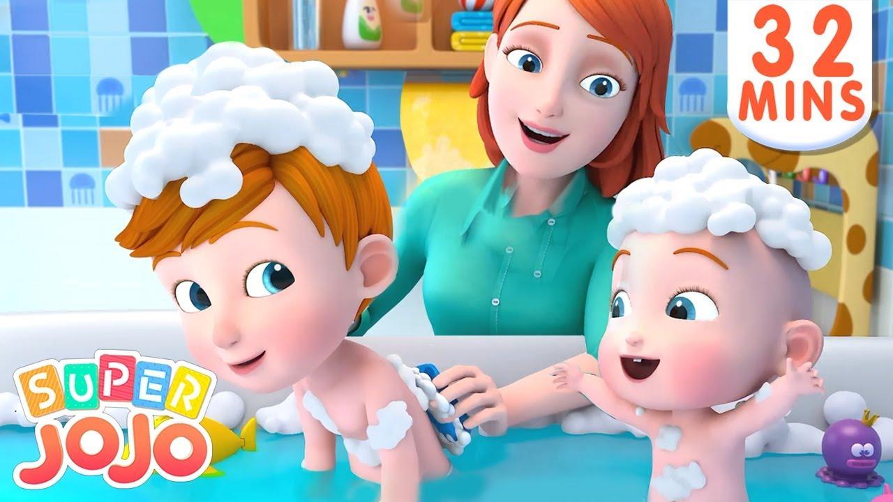 I Don't Want a Bath, No No | Bath Song + More Nursery Rhymes & Kids Songs – Super JoJo