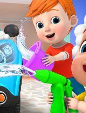 Car Wash Song   Super JoJo Nursery Rhymes & Kids Songs