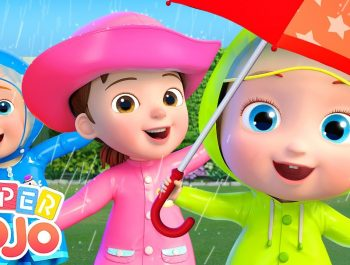 Rain Rain Go Away | Super JoJo Nursery Rhymes & Kids Songs