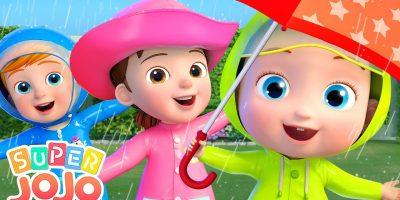 Rain Rain Go Away   Super JoJo Nursery Rhymes & Kids Songs