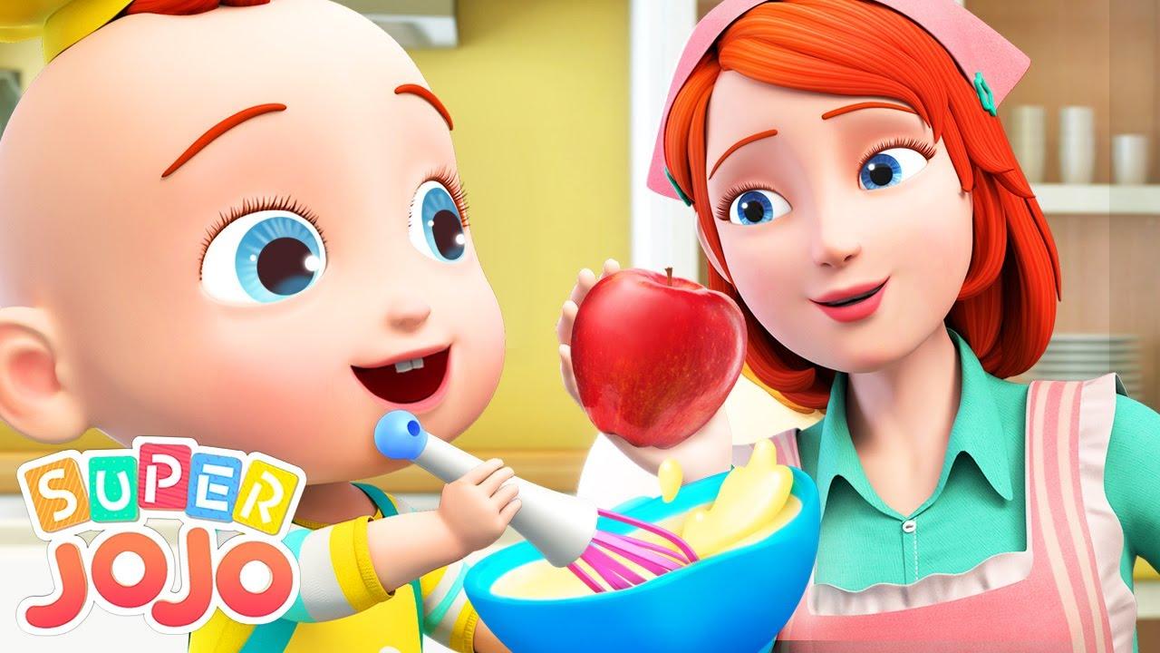 Snack Song | Food Song For Kids | Super JoJo Nursery Rhymes & Kids Songs
