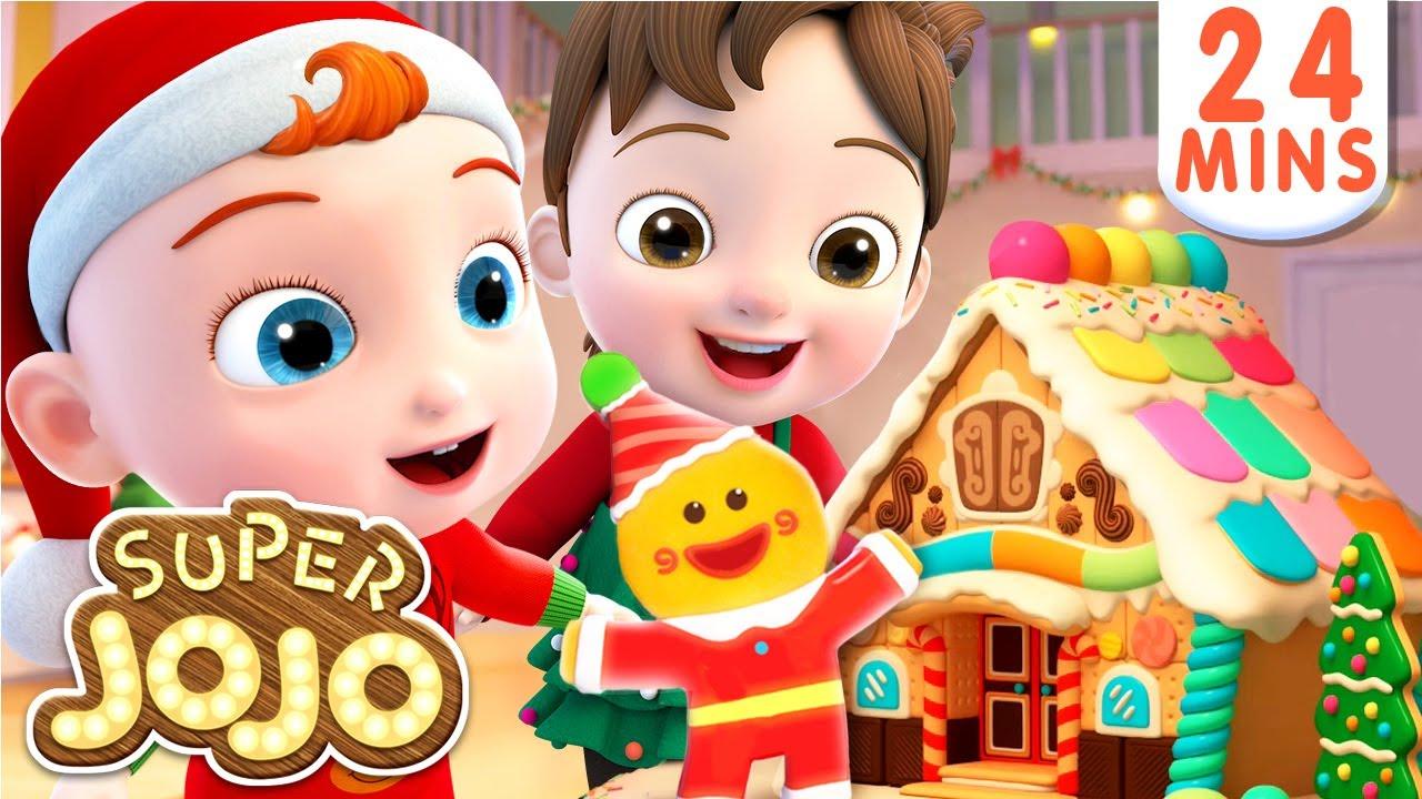 Deck the Halls | Christmas Song for Kids | Nursery Rhymes & Kids Songs – Super JoJo