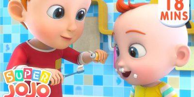 Time to Brush Your Teeth | Good Habits Song + More Nursery Rhymes & Kids Songs – Super JoJo