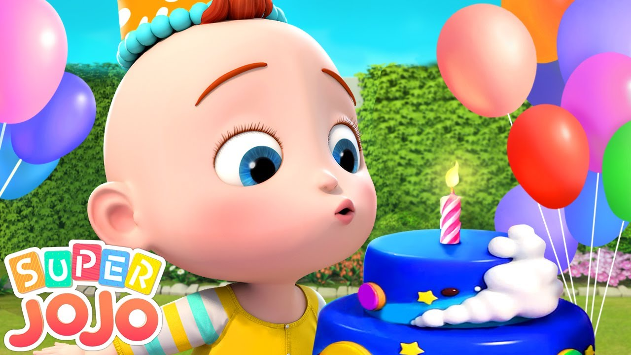 Happy Birthday Song   Happy Birthday To You   Super JoJo Nursery Rhymes & Kids Songs