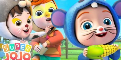 Farm Animals Song | Animal Sounds Song | Super JoJo Nursery Rhymes & Kids Songs