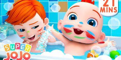 I Don't Want to Take a Bath, No No + More Nursery Rhymes & Kids Songs – Super JoJo